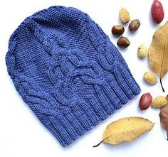 """""""Maera Hat,"""" by Irina Anikeeva, knit in Araucania Toconao."""