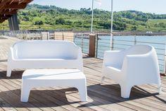 Sofa design et empilable Solid - Sledge