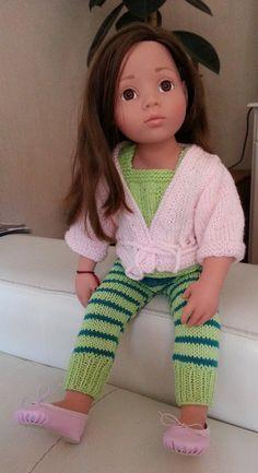Tenue douceur pour ma poupée Götz