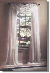 scarf swag curtains - Google Search