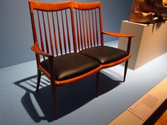 Sam Maloof double chair