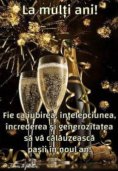 Felicitari de anul nou 2019 - Fie ca iubirea, înțelepciunea, încrederea și generozitatea să vă călăuzească pașii în noul an! Happy New Year Gif, Happy New Year Photo, Happy New Year Images, New Year Photos, Happy Birthday Pictures, Happy Birthday Fun, An Nou Fericit, Winter Scenery, Flyer