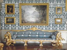 Kedleston Hall - Safa in the Drawing Room | Flickr - Photo Sharing!
