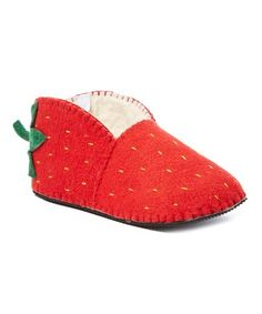 e8e88d7032a7 This Red Wool Strawberry Slipper - Women is perfect!  zulilyfinds