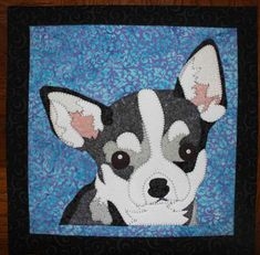 Chihuahua Quilted Wall Hanging | Craftsy