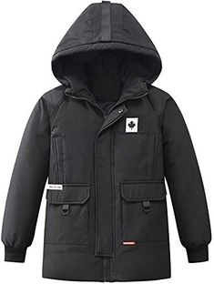 Thin for Spring or Fall RACHAPE Mens Down Jacket Padded Outerwear Clothes Hooded Cotton Outwear Thicken for Snow Winter