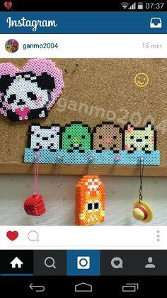Perler Beads, Fuse Beads, Sumiko Gurashi, Kawaii Diy, Pixel Pattern, Iron Beads, Bead Patterns, Pixel Art, Diy And Crafts