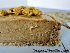 Fragrant Vanilla Cake: Mini Raw White Mulberry Caramel Tartlette for Two