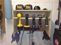 Cordless Drill Storage / Charging Station