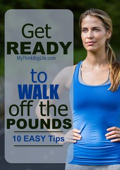 Here are 10 tips to keep you motivated to walk off the pounds. This is my…