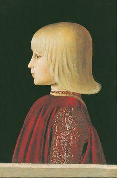 Piero della Francesca: Guidobaldo da Montefeltro (1483) by petrus.agricola, via Flickr