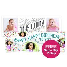 Create a custom poster with your favorite photos at Walgreens. Personalised Photo Books, Fun Activities For Kids, Kids Fun, Photo Banner, Walgreens Photo, Custom Canvas, Mothers Day Cards, Holiday Photo Cards, Photo Canvas