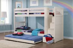 [gallery Do you have twins? Or kids who love to share their room? Give them cool and awesome toddler bunk beds. It is clear that every bunk beds design have double bed, one is on top and another one is on bottom. Cheap Bunk Beds, Toddler Bunk Beds, Childrens Bunk Beds, Bunk Beds Boys, Kid Beds, Bunk Beds For Toddlers, Toddler Beds For Boys, Beds Uk, Bunk Beds With Drawers