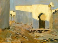 Image result for morocco  painting