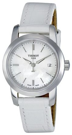 Tissot Classic Dream Mother of Pearl Dial Ladies Watch T0332101611100 #Tissot