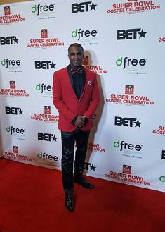 What a great time to be on the red carpet representing the NFL Gospel Choir during this past Super Bowl week in Houston, Texas.