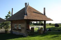 Gazebo, Pergola, Stables, Garden Inspiration, Cottage, Outdoor Structures, Cabin, Home, Woodwind Instrument