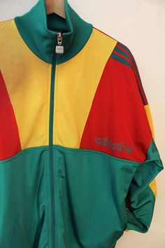 Felpa Adidas vintage 90s afro