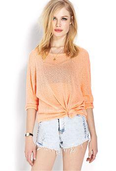 Favorite Open-Knit Sweater