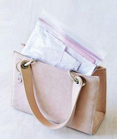 Zippered Plastic Bag as Record Keeper: Keep receipts handy and wrinkle-free. Corral keys, your phone, and loose change before hitting airport security. Store your car's insurance card and registration in the glove compartment.