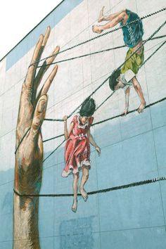 Artist Ernest Zacharevic