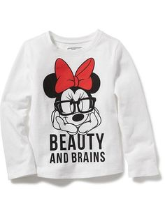 Minnie Mouse graphic tee for toddler at Old Navy