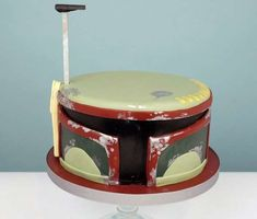 These Cakes for Two Add Intergalactic Awesomeness to Desserts , if only for my bbz birthday!!