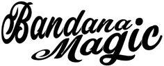 Bandana Magic Bandana, Company Logo, Magic, Bandanas