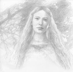Galadriel by Alan Lee