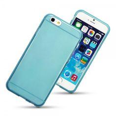 """Θήκη Σιλικόνης για iPhone 6 - 4,7"""" by Terrapin - (118-113-018) Ημιδιαφανής Μπλε - myThiki.gr - Θήκες Κινητών-Αξεσουάρ για Smartphones και Tablets - Ημιδιαφανής Μπλε"""
