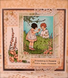 Synnøves Papirverksted: Friendship and Flowers...