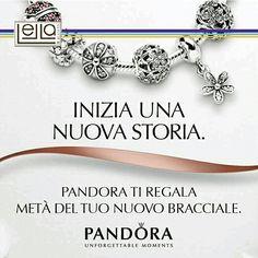 Scegliete un bracciale che racconti la vostra storia, meta' ve lo regala Lella Gioielli.