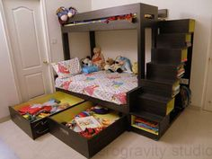 Kids Room By ZeroGravityStudio Bunk Bed Designs, Kids Bedroom Designs, Kids  Room Furniture,
