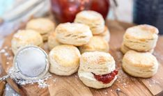 A Food, Food And Drink, Afternoon Tea Recipes, Scones, Clotted Cream, Our Daily Bread, Fika, High Tea, Bread Baking