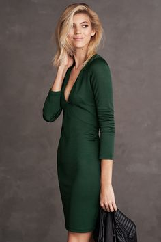New autumn arrivals, including bodycon dresses, chiffon dresses and blouses, leather separates, checked coats and soft knits. | H&M Fall/Winter