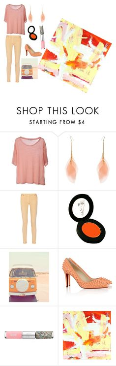 """""""??"""" by josefina-dominguez ❤ liked on Polyvore featuring Acne Studios, Maison Margiela, Christian Louboutin and Nails Inc."""