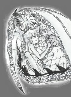 E.N.D Protecting His Family! This Picture Makes Me Cry. I Love NaLu So Much!