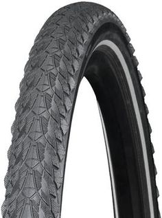 Bontrager LT1 Hardcase Lite Tire (700c)  If your daily ride takes the street and ends up on dirt, or you just want the option of doing a little off-road action while having city-slicker speed, check out Bonty's LT1 tire. Aggressive side knobs bite into the dirt, while the connected center tread rolls fast on pavement. Hardcase Lite puncture protection keeps pesky flats at bay so you can cruise trouble free. The Black/Reflex version has reflective sidewalls for low-light visibility. Bicycle Tires, Bike, Port Charlotte, Pavement, Low Lights, Offroad, Cruise, Off Road