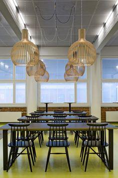 Lamp Design, Lighting Design, Ceiling Lights, Interiors, Interior Design, Finland, University, Public, Home Decor