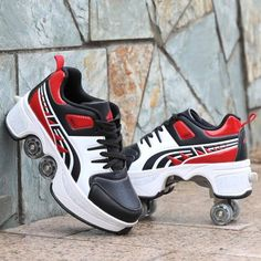Casual Sneakers, Air Max Sneakers, Casual Shoes, Rollers, Mens Waterproof Winter Boots, Kickers Shoes, Roller Skate Shoes, Roller Skating, Mens Flip Flops