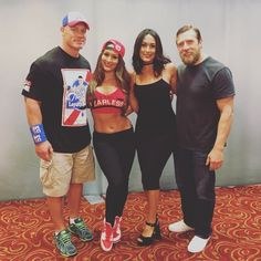 The official home of the latest WWE news, results and events. Get breaking news, photos, and video of your favorite WWE Superstars. John Cena And Nikki, Nikki And Brie Bella, Wwe Total Divas, Wwe Divas, Wrestling Superstars, Wrestling Divas, Best Instagram Photos, Instagram Bio, Wwe Couples