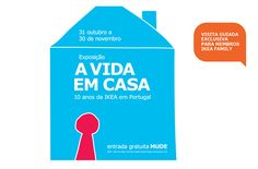 Há vida em casa. E mora no Museu do Design e da Moda. #IKEA #MUDE #LISBOA #XPOSIÇÂO