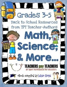 FREE Math and Science: FREE Back to School eBook for Grades 3-5