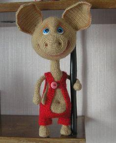 P1010007 - Хрюньдель - Галерея - Форум почитателей амигуруми (вязаной игрушки)