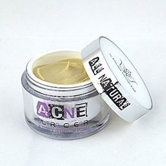 This 100% natural acne treatment cream is awesome