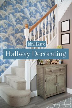 Hallway design ideas for whatever space you have to play with. Find out how to make the most of your home's entrance hall with these looks and styles Kitchen Decor Signs, Hallway Decorating, Decorating Ideas, Hallway Designs, Target Home Decor, Romantic Homes, Affordable Home Decor, Handmade Home Decor, Rustic Decor