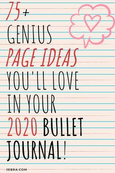Collections to Rock Your BuJo in - Bullet Journal Collection Ideas – Bullet Journal Inspiration for Pages to Try in Your BuJo in the New Year – 2020 Bullet Journal – Bullet Journal Collections – BuJo Pages - Bullet Journal For Beginners, Creating A Bullet Journal, Bullet Journal Hacks, Bullet Journal How To Start A, Bullet Journal Notebook, Bullet Journal Layout, Bullet Journal Ideas Pages, Journal Pages, Bullet Journals