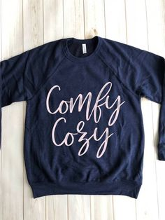 Comfy Cozy Blush Pink, Cozy, Unisex, Pullover, Sweatshirts, Sweaters, Cotton, Kids, Clothes