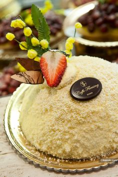 Caffè Fleming - Roma, Italy #food #cibando #cake