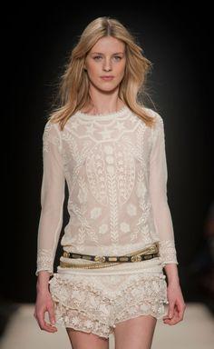Isabel Marant White Top | VAUNTE